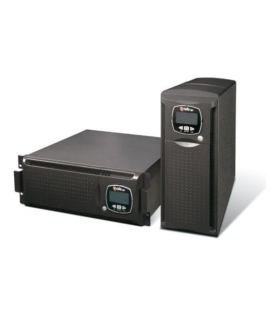 RIELLO DLD 500 UPS 5KVA 3500W with batt bank