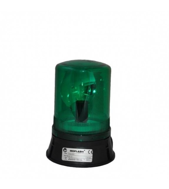 MOFLASH Rotating Beacon 230VAC 60W Green
