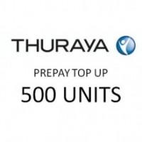 THURAYA Prepay Top Up - 500 Units (Soft PIN)