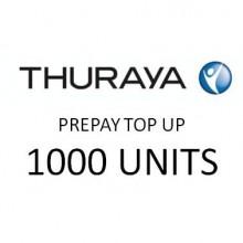 THURAYA Prepay Top Up - 1000 Units (Soft PIN)