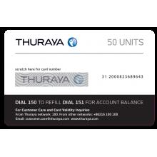 Thuraya Prepay Top Up - 50 Units (Soft PIN)