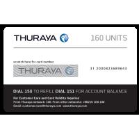 THURAYA Prepay Top Up - 160 Units (Soft PIN)