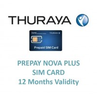 THURAYA Prepay Nova Plus SIM Card (12 Months Validity)
