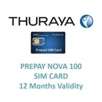 THURAYA Prepay Nova 100 (12 Months Validity) SIM Card