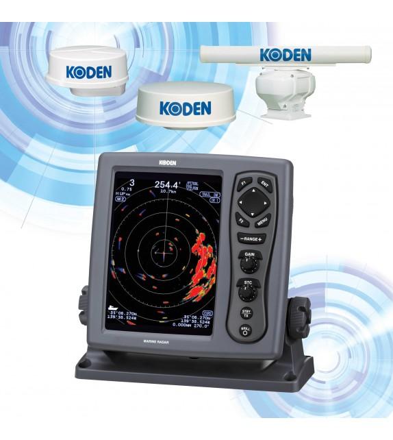 KODEN MDC-904A 8.4-inch Color LCD Marine Radar
