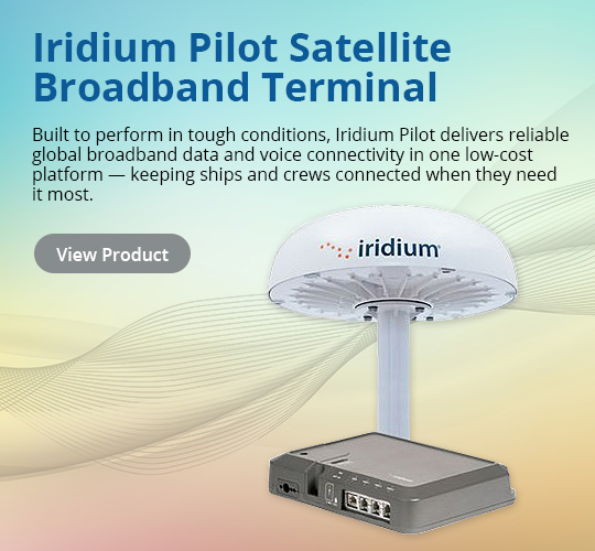 Iridium Pilot Satellite Broadband Terminal