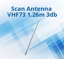Scan Antenna VHF73 1.26m 3db